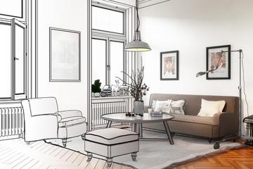Retro Style Apartment (draft)