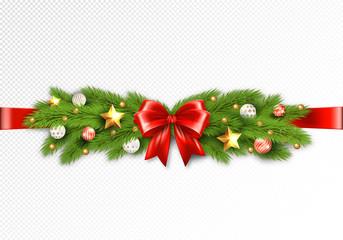 Detailed Christmas Garland