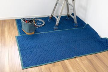床を傷つけないための養生シート