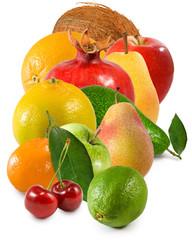 Fototapete - isolated image of many fruit