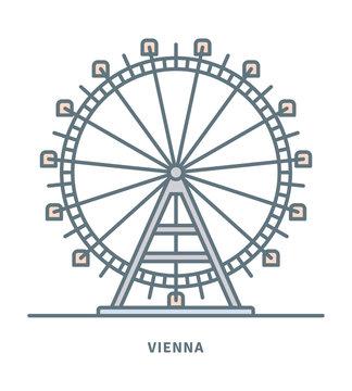 Prater Ferris Wheel at Vienna icon