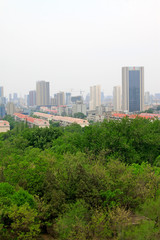 Urban construction scenery