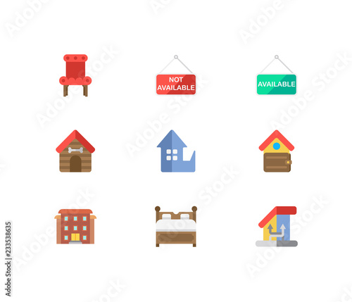 Building icons set. Change of housing and building icons ... on bed lifters, bed texture, bed desktop, bed seat cushion, bed on beach, bed bolsters, bed people, bed queen, bed on stilts, bed cooler, bed bunker, bed railing, bed for disabled at home,