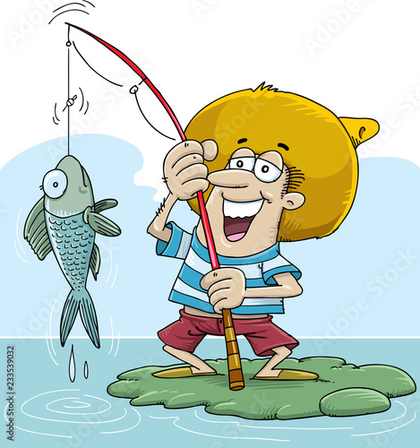 Открытка рыбак с рыбкой прикольная