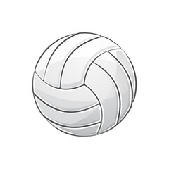 Volleyball with stroke