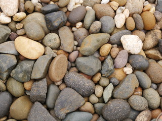 aroma stone background,pebbles on the beach