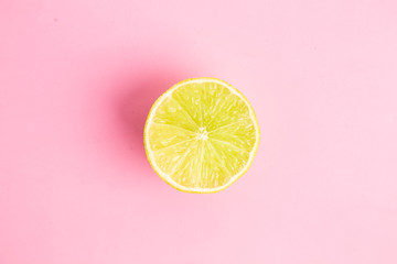 lime in colorful background Wall mural