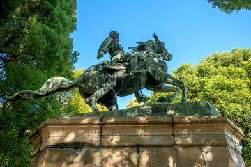北白川宮能久親王銅像