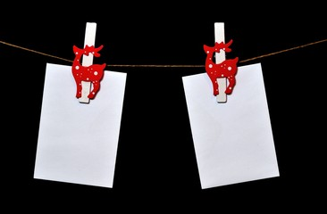 Letreros navideños porta foto navideño