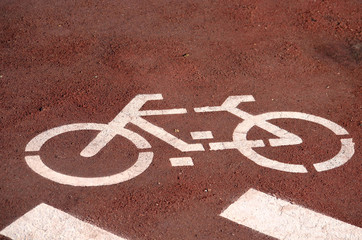 Carril exclusivo para bicicletas