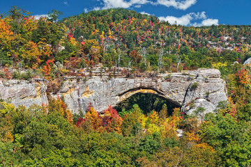 Natural Arch In Kentucky Wall mural