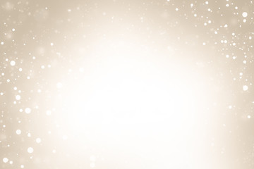 gold abstract glitter bokeh background