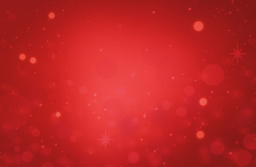 red glitter Abstract texture christmas with light bokeh