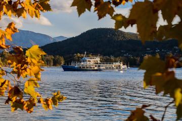 Herbststimmung am Wörther See in Klagenfurt