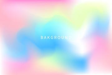 Magic pastel unicorn background