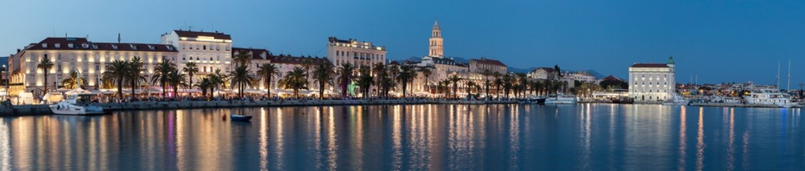 Historic city center in Split. This is a UNESCO heritage. Croatia