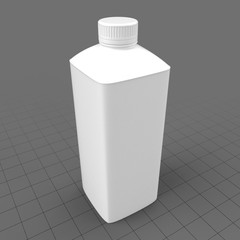 Kefir bottle