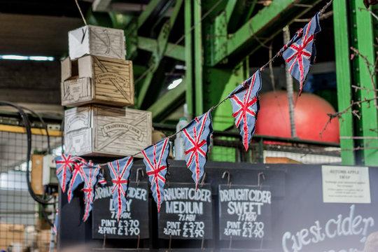 Union Jack Flagge Fahne Wimpel Kette Großbritannien, England