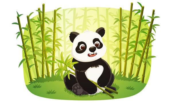 8,619 BEST Panda Bamboo Cartoon IMAGES, STOCK PHOTOS & VECTORS | Adobe Stock