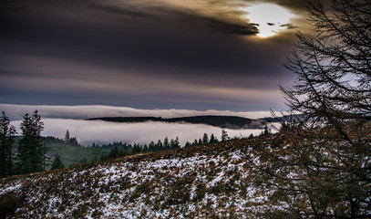 The Slieve Bloom Mountains