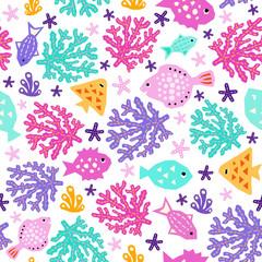 Sea world pattern