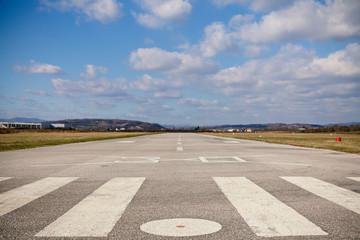 air strip landscape