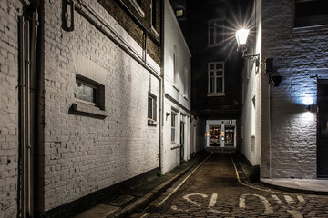 Backstreet in Marylebone, London
