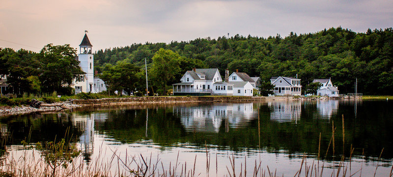 Popham Maine Reflection