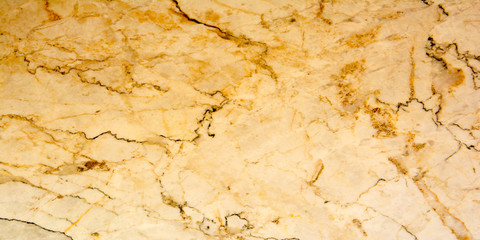 Wall Mural - Panorama stripe brown marble texture background. Panoramic brown color marble texture surface