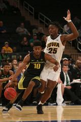 NCAA Basketball: Empire Classic-Oregon at Iowa