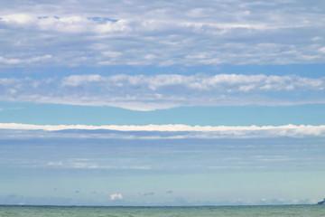 cloudy weather on the black sea coast.
