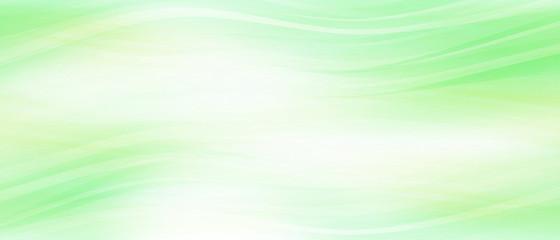 ライトグリーンのウェーブ(背景素材)
