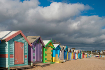 Bathing Boxes - Brighton Beach, Melbourne, Australia