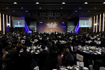 The international convention for peace and prosperity in the Asia-Pacifis, in Goyang