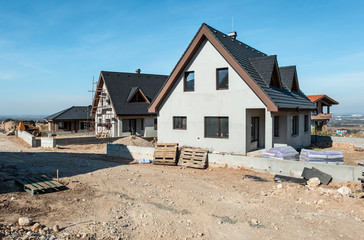 New build houses
