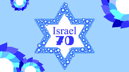 Selebration of Israel independense day 70 years of freedom