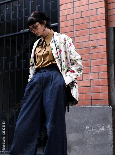ac5a39aa5146a Fashion photo, Street style fashion. Professional model.