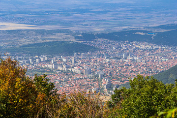 Town of Sliven, view from Karandila