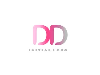 DD Initial Logo for your startup venture
