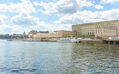 Schloss in Stockholm, Schweden