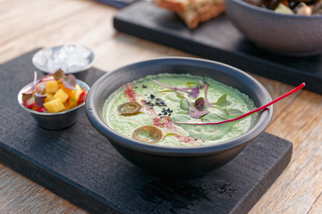 Asian style summer soup