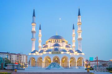 Melike Hatun Mosque, near Genclik Park in Ankara, Turkey Wall mural
