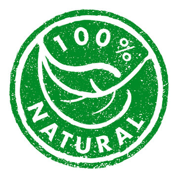 100% NATURAL rubber stamp grunge style