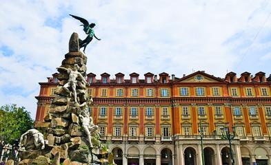 Statuto square, Turin, Piedmont, Italy
