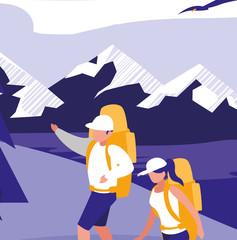 avatar hikers design