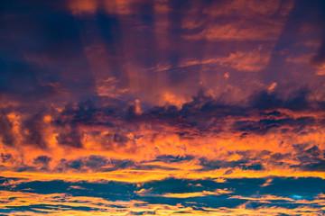 Colorful fantastic  sky