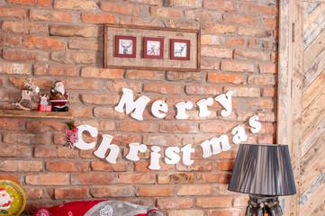 Background inscription merry christmas