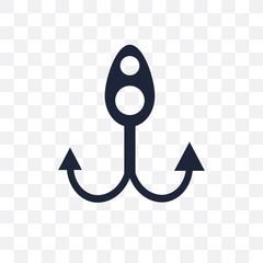 Bait transparent icon. Bait symbol design from Nautical collection.