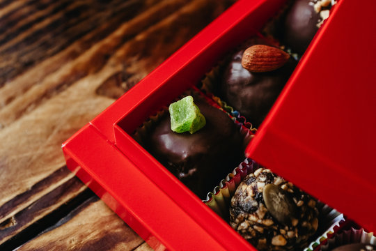 natural and healthy homemade candies as a Christmas present
