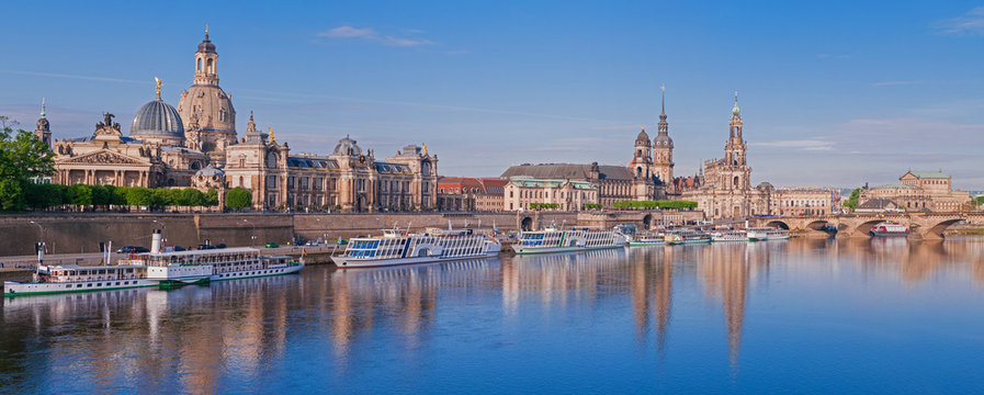 Dresden – Brühlsche Terrasse; Deutschland